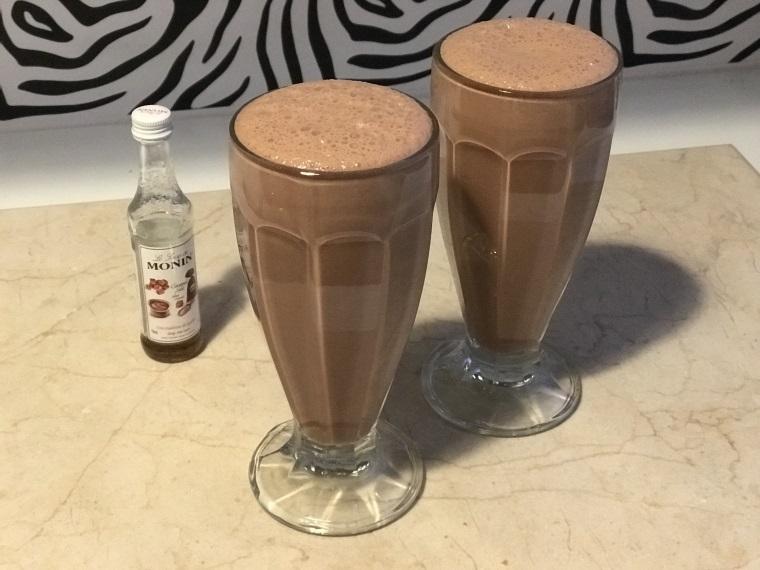 recette chocolat frappé