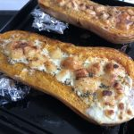 recette courge butternut fromage au four